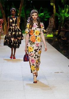 Dolce & Gabbana Spring Summer 2017 prints