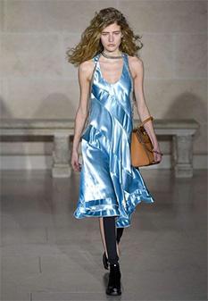 Louis Vuitton AW17 liquid satin