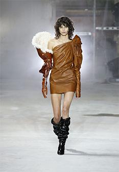 Saint Laurent AW17 soft leather